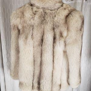 Jackets & Coats - Blue fox fur coat
